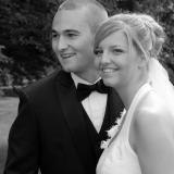 Brudepar nærbillede