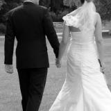 Brudepar går væk