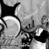 Brud ved graffitti