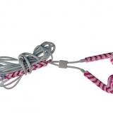Pink headset